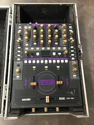 Rane 62 Sixty-Two Generation 2 Professional DJ Mixer Serato W/Case (LIN022140)