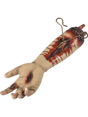 Animated Gory Severed Arm Prop, Pulsating Halloween Horror Decoration - Smiffys Halloween Props
