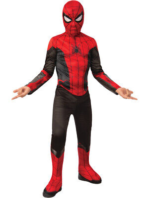Boys Spider-Man Far From Home Black And Red Spidey Suit Costume