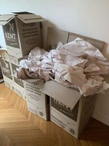 FREE: variety of removal boxes and packing paper