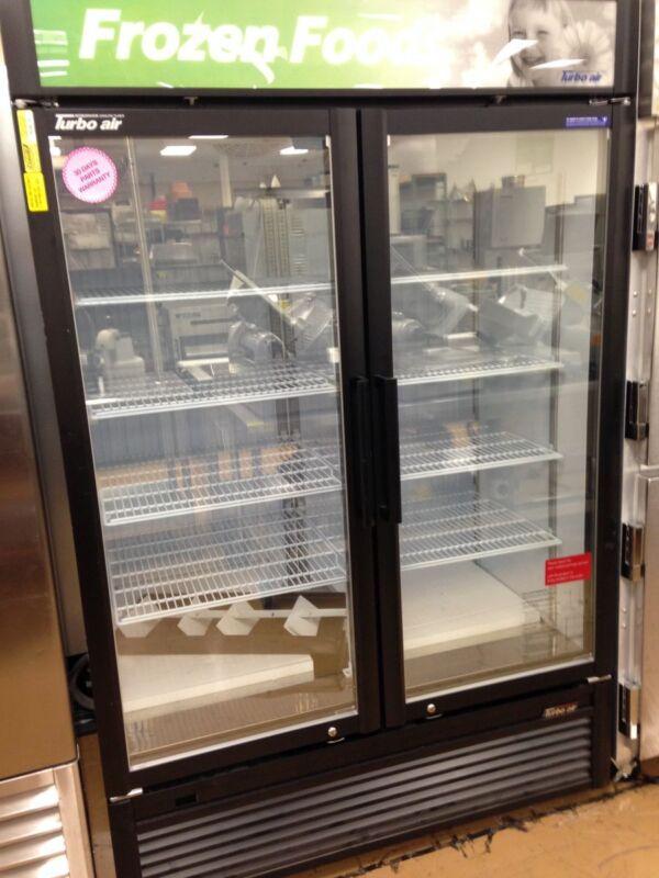 2 Door Freezer Merchandiser- Turbo Air TGF-47SDB