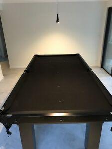 Pool Table Slate Black - 2.2m x 1.1m (7x3) excellent condition Sunshine Beach Noosa Area Preview