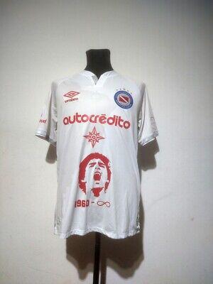 Argentinos Juniors soccer jersey Umbro 2020/2021 Size M match worn Maradona image