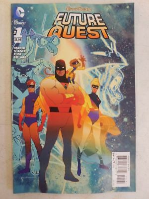 Variant SPACE GHOST Cover JONNY QUEST Comic # 1 Future Quest HERCULOIDS Bird Man