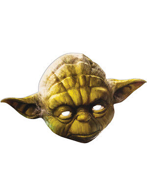 Adult's Star Wars Yoda Jedi Master Paper Party Mask Costume - Star Wars Party Masks