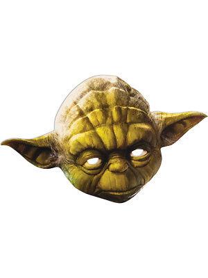 Adult's Star Wars Yoda Jedi Master Paper Party Mask Costume Accessory (Yoda Masks)
