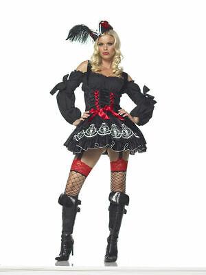SEXY Halloween COSTUME TREASURE HUNT WENCH Pirate Captain Cosplay Buccaneer S - Treasure Hunt Halloween