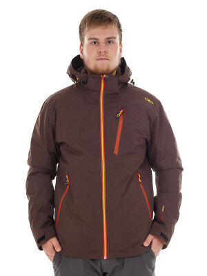 CMP giacca da esterno funzionale marrone tasche THINSULATE™