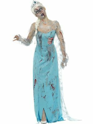 SMI - Damen Kostüm erfrorene Zombie Märchen Prinzessin - Zombie Prinzessin Kostüm