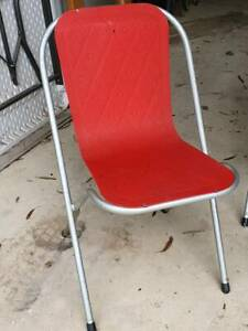 Sebel vintage retro metal chairs