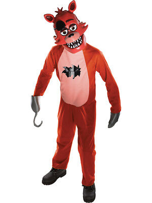 Childs Five Nights At Freddy's Foxy Fox Survival Horror Costume Tween 34-36