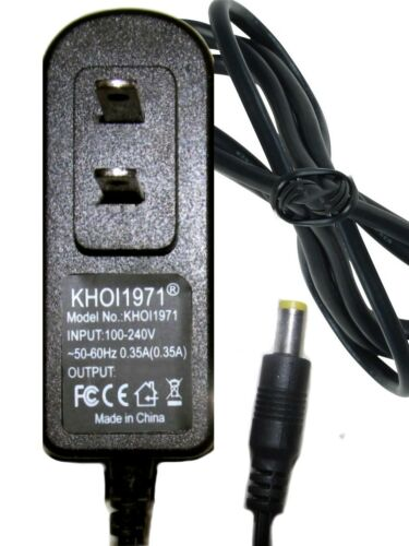 WALL charger AC adapter for 61777 Harbor Freight LUMINAR Work LED 3W Spotlight