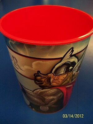 Thor The Mighty Avenger Movie Marvel Birthday Party 16 oz. Plastic Cup