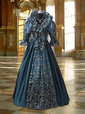 Fairy Queen Dress (Renaissance Beautiful Gown Medieval Fairy Queen Dress Victoria Taffeta)