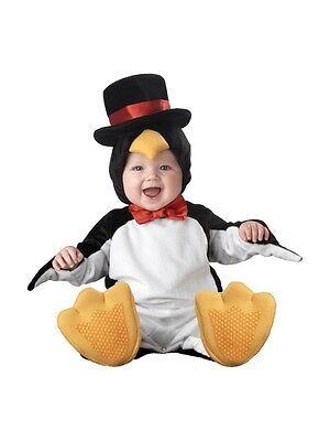 Kleinkind Pinguin Kostüm (Incharacter Lil Pinguin Zylinder Schleife Kleinkinder Baby Halloween Kostüm 6010)