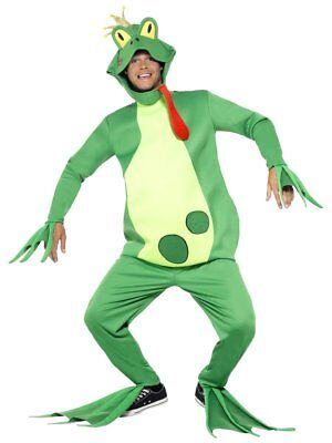 Smiffys Froschkönig Märchen Mythisch Erwachsene Halloween Kostüm Einheitsgröße