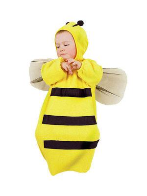 Kind Kostüme Biene (Kleinkind Kostüm Biene bis 9 Monate Fasching Kind)