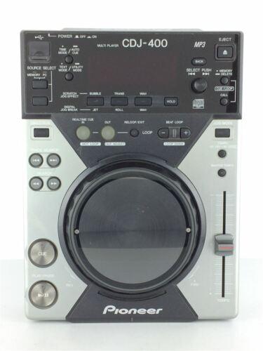 Pioneer CDJ-400 Media Player 19W Compact Disc Digital Player DJ Player used