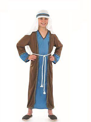 JOSEPH SHEPHERD INN KEEPER BOYS  NATIVITY CHRISTMAS PLAY FANCY DRESS COSTUME