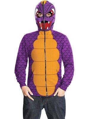 Skylanders Spyro The Dragon Hoodie Tween 14-16 - Spyro Dragon Costume