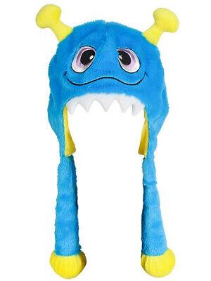 Halloween Character Cute Blue Monster Plush Hat Costume - Cute Monster Costumes Halloween