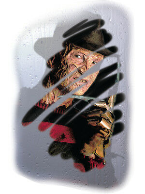 Nightmare on Elm Street Freddy Krueger Mirror - Halloween Mirror Decals