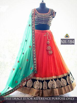 Special Chaniya Choli for Women party wear ethnic weds Designer Ghagra Choli 184