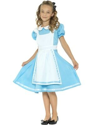 Alice In Wonderland Costume Children (Alice In Wonderland Princess Storybook Girls Child)
