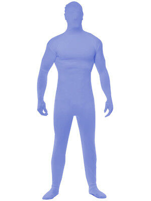 Adults Mens Womens Blue Team Spirit Bodysuit Costume