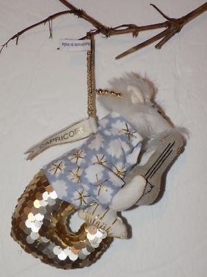 Anthropologie Horoscope Capricorn Ornament-Has Zodiac Name Tag