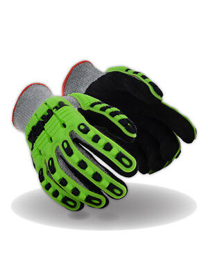 Magid T-REX TRX450 Lightweight Knit Impact Glove – Cut Level A6, 1 Pair
