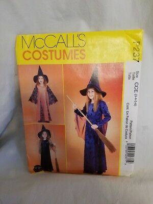Costumes for Kids P237 Children's 3 Different Witch Costumes Size 3-6