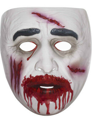 Adult Mens Super Bloody Male Zombie Undead Corpse Vinyl Costume - Male Zombie Costume