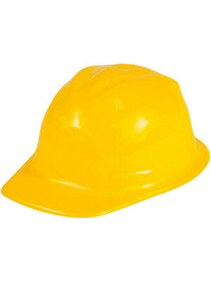 Childs New Plastic Costume Construction Hard Hat Helmet