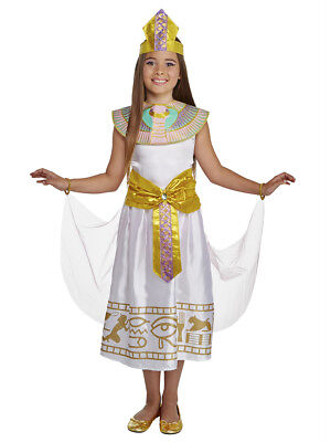 Girls Colorful Cleo Egyptian Cleopatra Dress Costume](Cleopatra Costume Girls)