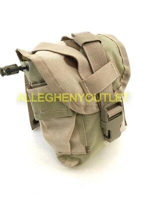 US Military Army 1 QUART QT MOLLE DCU CANTEEN POUCH USGI Desert Camo Cover LN