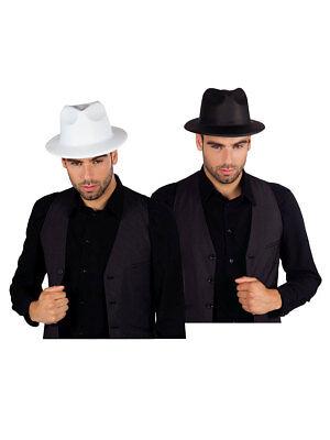 Gangsterhut Klassisch Accessoires Kostüm Fasching (Klassische Gangster Kostüm)