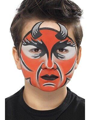 Pintura de la Cara Make hasta Halloween Carnaval Kit Trucos Diablo Accesorio