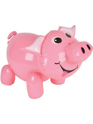 pink pig farm animal inflatable 24