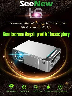 Smart Projector 3500 Lumens T6 WIFI HD Video Portable Home Theater Projecteur