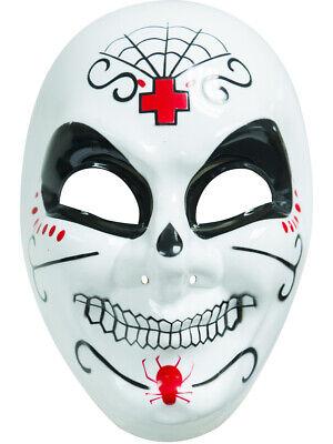 Dia De Los Muertos Costume Male (Adult's Male White Dia De Los Muertos Day of the Dead Mexican Costume)