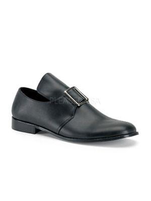 Pilger Schuhe (Halbschuh Pilger Herrenschuh schwarz Fasching)