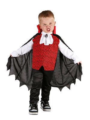 Vampir Dracula (3-4 Jahre) Halloween (Dracula Kostüm Für Kinder)