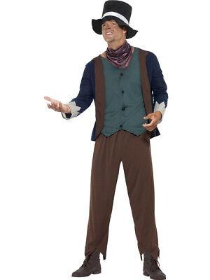 Adult's Mens Victorian Era Poor Man Beggar Costume (Victorian Mens Costumes)