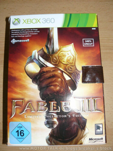 Fable III Collectors Edition