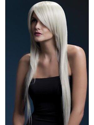 Kostüm-blonde (Hitzebeständig Perücke Waschbar Styleable Damen Kostüm Blonde 71cm)
