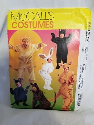 Costumes for Adults MP232 Bear Kangaroo Rabbit Cat Leopard Lion Size Medium (Bear Costumes For Adults)