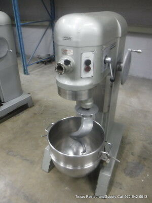 Hobart H-600 Pizza Donut Pizza Dough Mixer 60 Qt W Bowl Hook