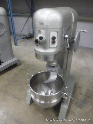 Hobart H-600 Pizza Donut Pizza Dough Mixer 60 Qt W Bowl Hook