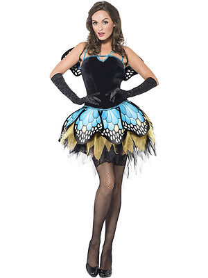Adult Sexy Butterfly Fairy Animal Costume  ()